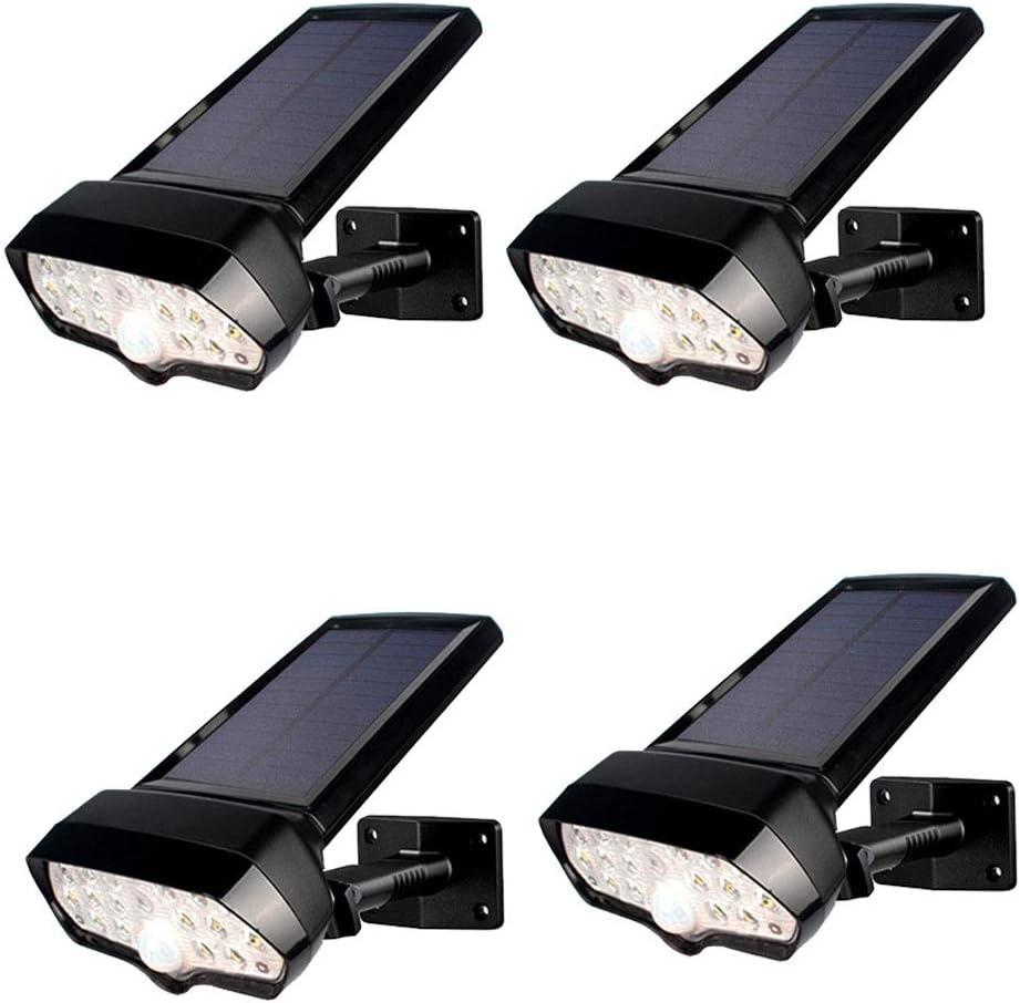 Towero Las luces solares impermeables 16LED de huerta solar luces del sensor de cuerpo de la pared al aire libre (Color : 4)