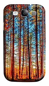 Autumn Forest Painting PC Case Cover for Samsung Galaxy S3 I93003D
