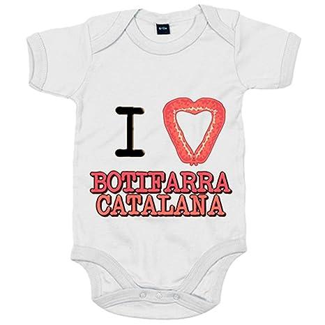 Body bebé I Love botifarra Catalana català - Blanco, 6-12 ...