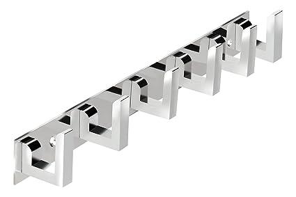 buy docoss stainless steel glossy 6 pin cloth hanger door wall hooks