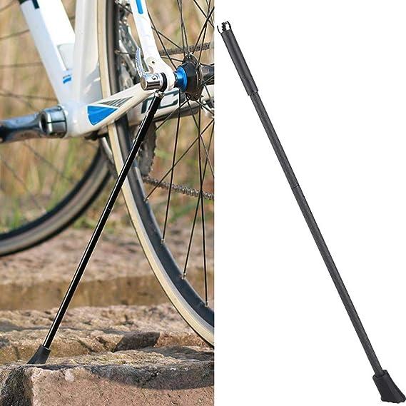 Alomejor Pata de Cabra para Bicicleta Fibra de Carbono Ajustable ...