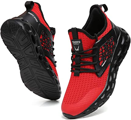 Mens Casual Sneakers Walking Gym Trainer Athletic Sports Running Tennis Shoes  T