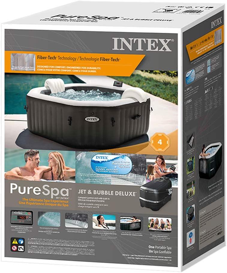 Intex Purespa Carbone 6 Places Amazon Fr Jardin