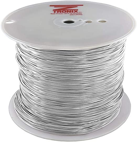 22 AWG tinned copper stranded hook up wire 100 feet violet UL1007