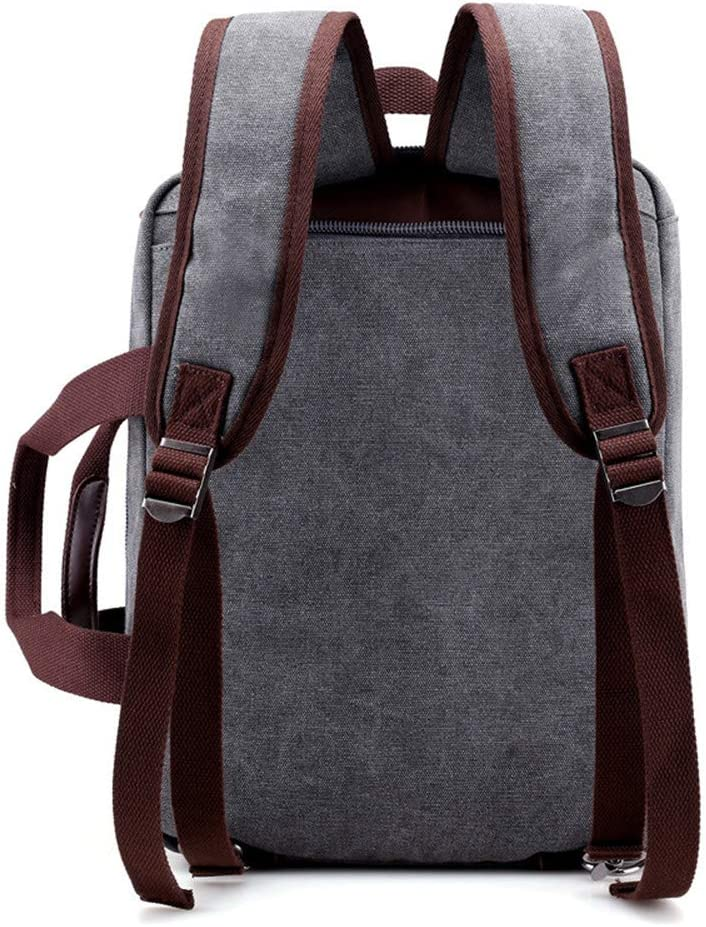 Color : Brown Travel Travel Preferred for Office Trip Mens Briefcase Bag Mens Business Three-in-one Backpack Shoulder Bag Portable Multi-Function Briefcase
