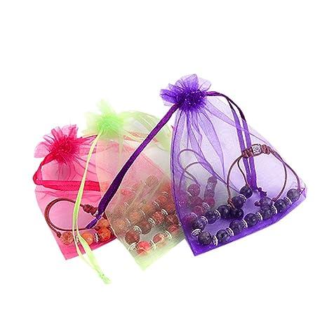 Organza boda Favor bolsas de regalo joyas estuche Candy ...