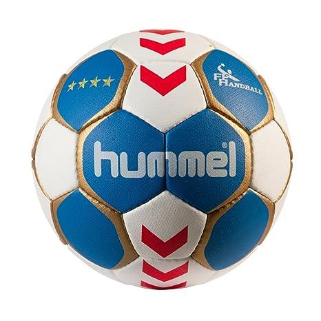Hummel -FFHB Club Supra - Balón de balonmano, color - rojo, tamaño ...