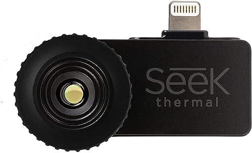Seek Thermal Compact – All-Purpose Thermal Imaging Camera for iOS Renewed