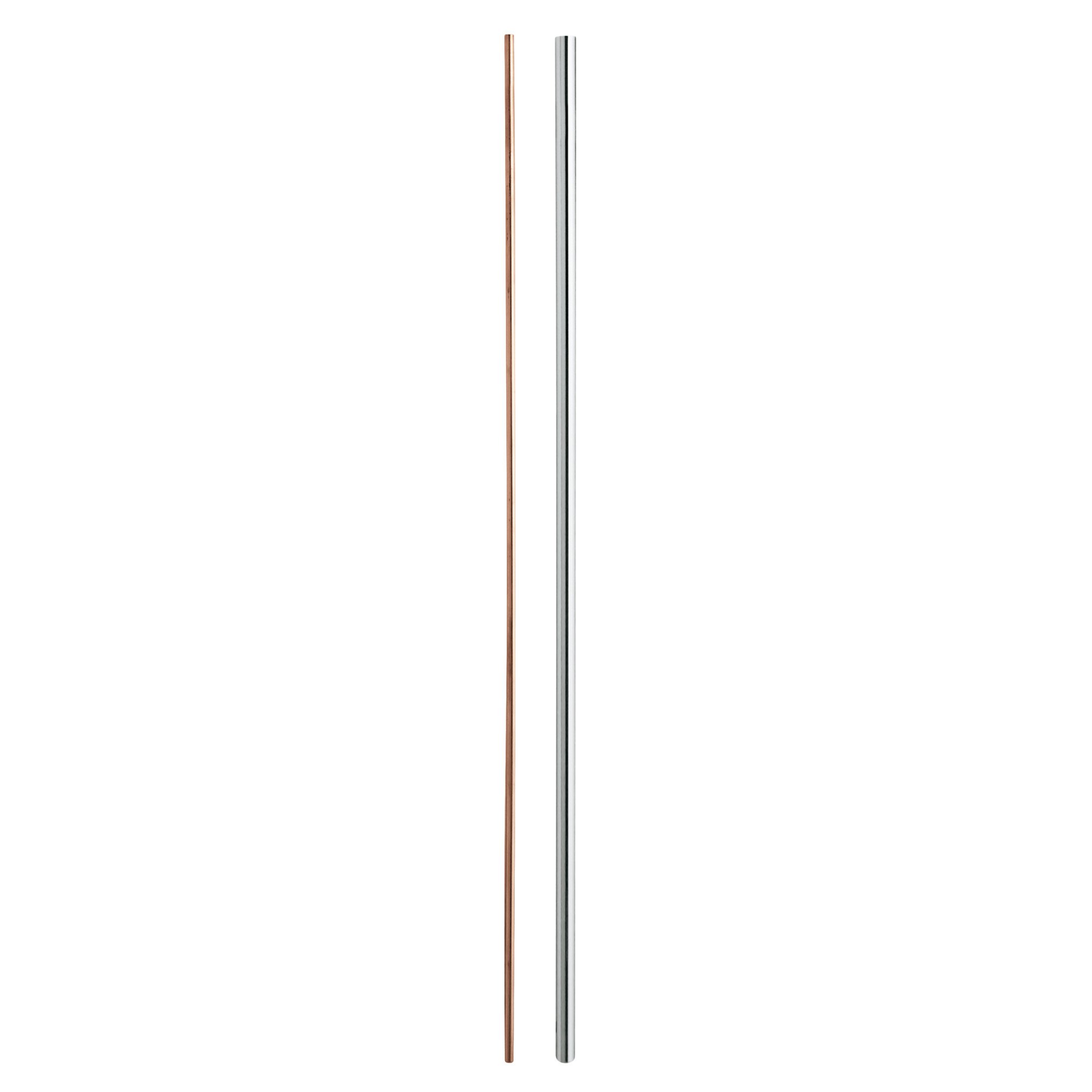 Grohe 48054000 System Euphoria/Tempesta Shorter Rail 34'' (866Mm) StarLight Chrome by GROHE (Image #1)