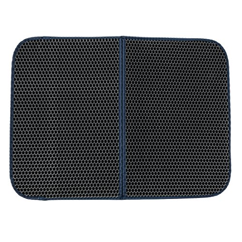 Basen Waterproof Cat Litter Trapper Easy Clean Honeycomb Pad - Protect Floor and Carpet