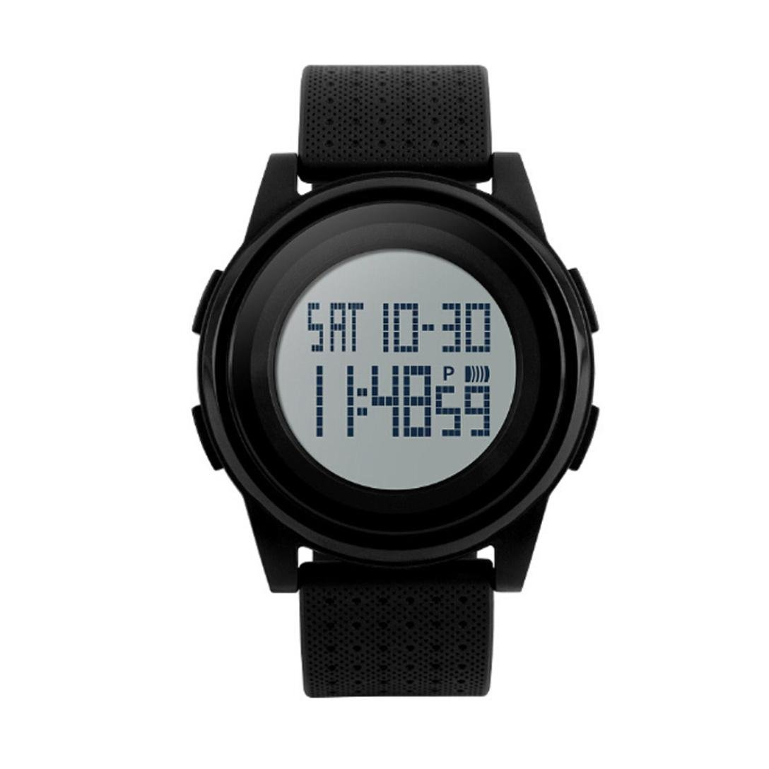 Watches Male Digital Watches Outdoor Sports Students Watch Waterproof Electronic Watches Clock Lxh