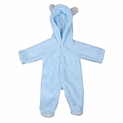 Newborn Baby Infant Boy Girl Rabbit Ear Romper Hooded Jumpsuit Outfits Clothes