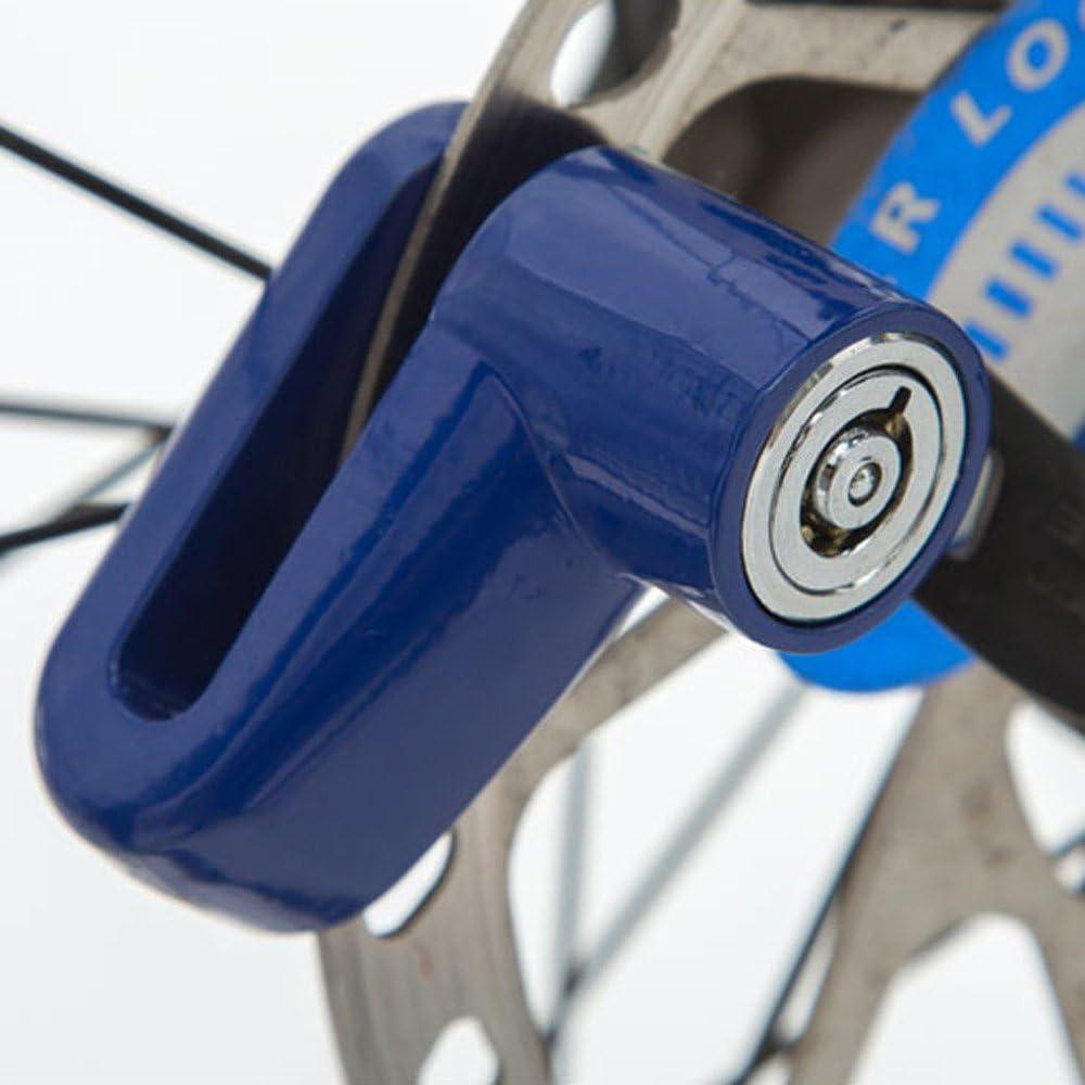 kashyk Antivol Alarme Bloque Disque Bloque Disque Moto Antivol,Antivol Cadenas avec 2 Keys,5.5 x 4.4cm Antivol Frein Moto Bicyclette Bloque Roue Installation Facile