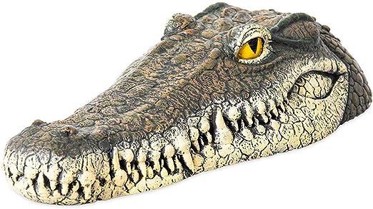 Lj Leurre En Forme De Crocodile Flottant Réaliste Pour étang