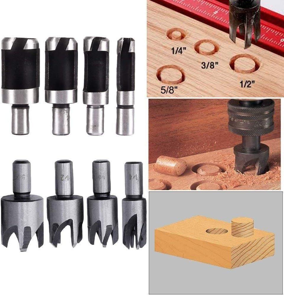 5//8 Head Diameter Drillco 7000A Series Magnum Solid Carbide Bur Cylindrical Flat End 1 Cutting Length 1//4 Shank Diameter Pack of 1 Single Cut