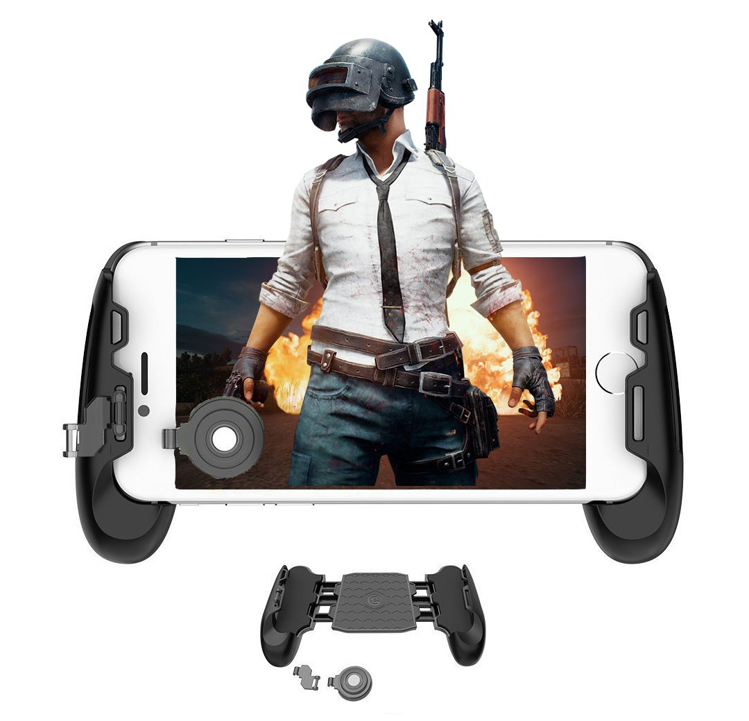 Mobile Game Controller and Gamepad, Sensitive Shoot and Aim Trigger Fire Button, Gamepad for Fortnite/PUGB / Rules of Survival, Mobile Gaming Joysticks for Android IOS by Fitoplay (Image #2)