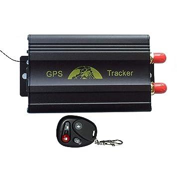 XuBa Vehículo GPS Tracker Plataforma de Control Remoto Quad Band SD ...
