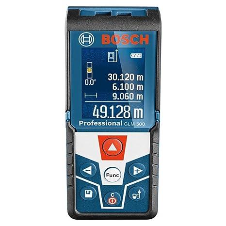 buy bosch glm 500 plastic laser distance measurement device blue 3
