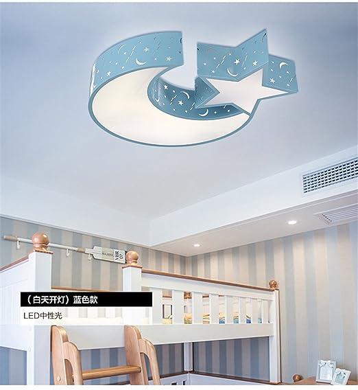 BRIGHTLLT Einladende Jungen und Mädchen Kinderzimmer LAMPE LED Stern ...