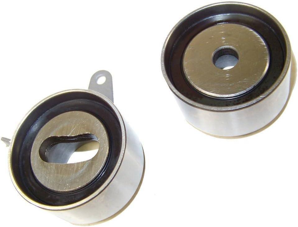 1.6L DNJ TBK407 Timing Belt Kit//For 2001-2005 1493cc 1594cc Kia//Rio DOHC 1.5L L4 16V