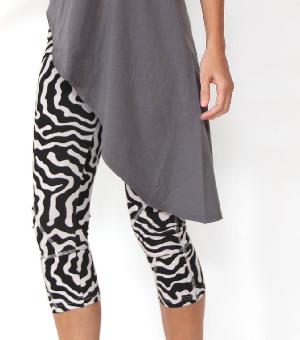 Prancing Leopard Pantalones de Yoga para Mujer Seychelles algodón ...