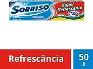 Creme Dental Sorriso Super Refrescante 50G, Sorriso, 50g