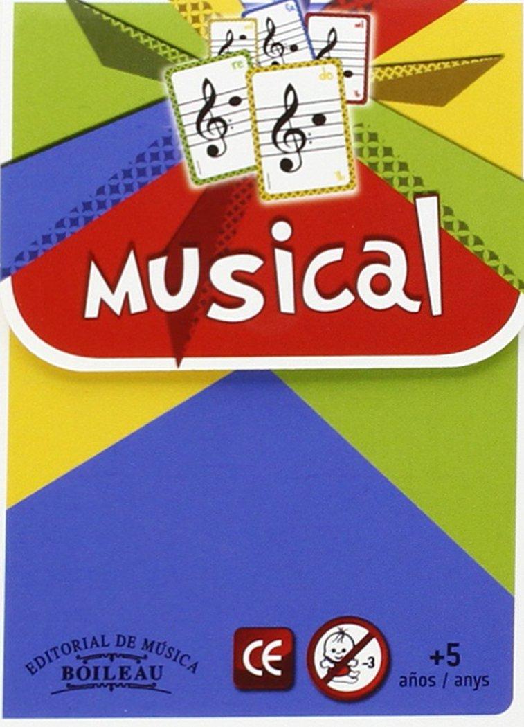 BARAJA MUSICAL.(JUEGO CARTAS MUSICALES).(REF:B.3600 ...