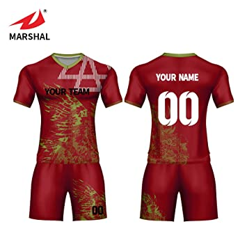 24aa404c6 ZHOUKA england red football shirt men custom size S-5XL soccer jerseys with  stripes and