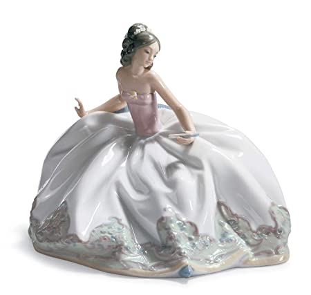 Lladro at The Ball Porcelain Figurine