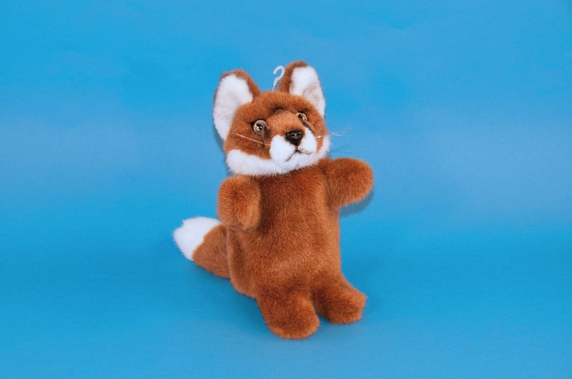 Fox Hand Puppet Soft Toy (28cm) Dowman