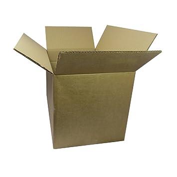triplast tplbx10doubl18 X 12 X 12 457 x 305 x 305 mm doble pared cartón eliminación mudanza caja de almacenaje: Amazon.es: Oficina y papelería
