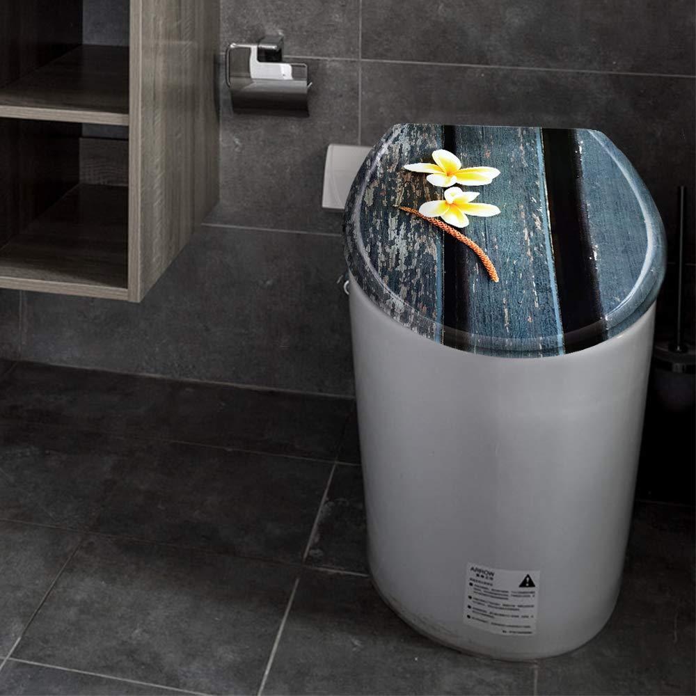 LeMeiZhiJia Abattant de WC avec syst/ème dabaissement automatique et fermeture amortie