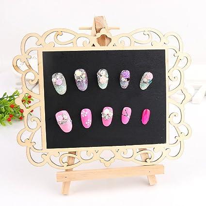 NACOLA - Pizarra de madera para decoración de uñas, diseño ...