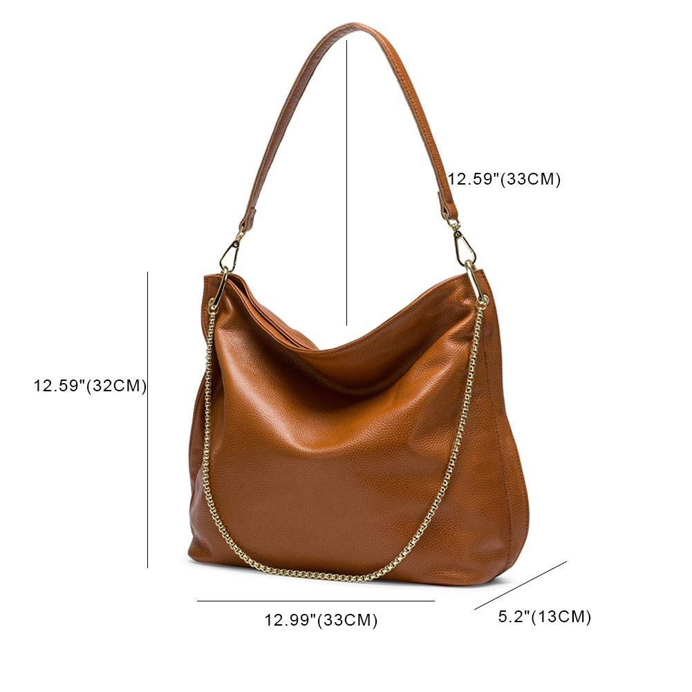 Naiermai Genuine Leather Handbags for Women Large Designer Ladies Shoulder  Bag Bucket Style  Handbags  Amazon.com 8820cca816bc3