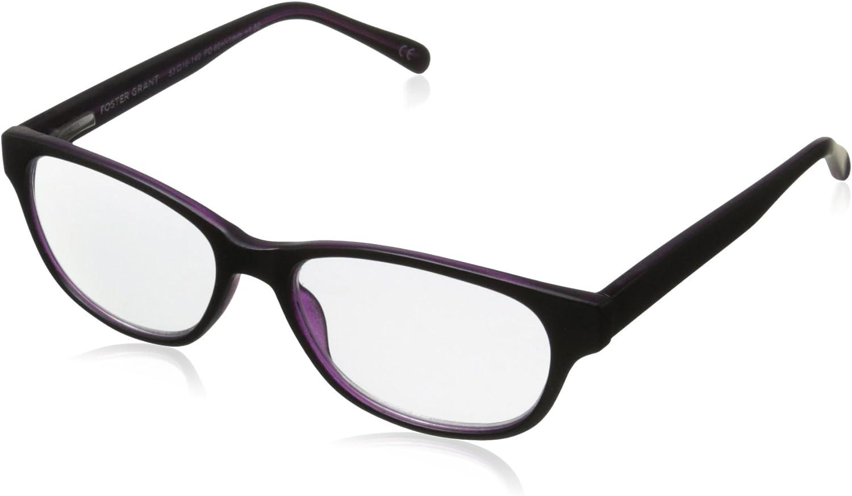 Foster Grant Zera Women's Oval Multifocus Glasses