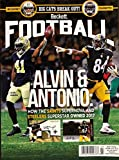 football price guide - NEWEST GUIDE: Beckett Football Card Monthly Price Guide (January 19, 2018 release / A. Kamara & A. Brown cover)