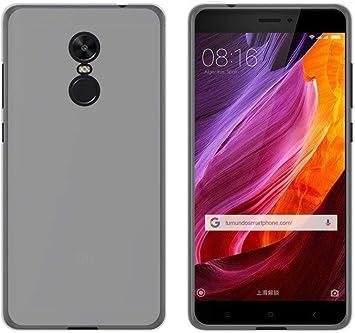 Tumundosmartphone Funda Gel TPU para XIAOMI REDMI Note 4X / Note 4 Version Global Color Transparente: Amazon.es: Electrónica