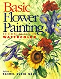 Basic Flower Painting Techniques in Watercolor, , 0891347305