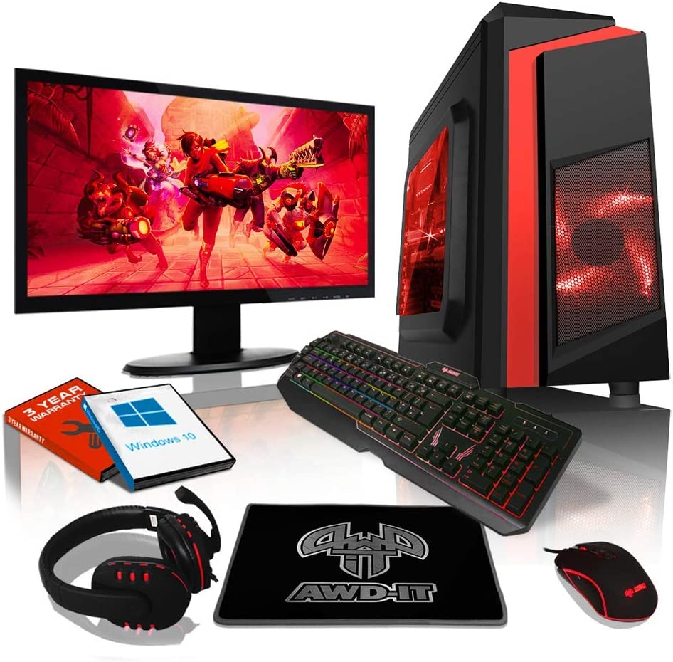 AWD-AMZ-FR: ADMI Paquete de ordenador para juegos