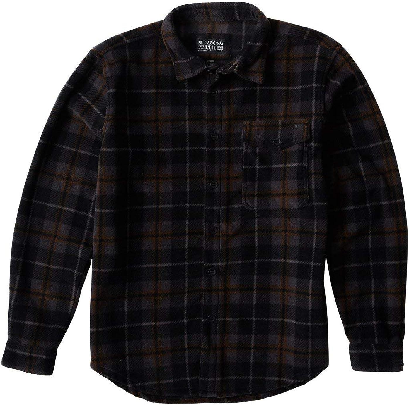 BILLABONG™ - Camisa de Franela - Hombre - L - Negro: Amazon.es: Deportes y aire libre