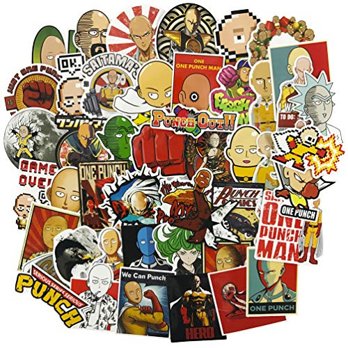 ONE Punch-Man Laptop Stickers