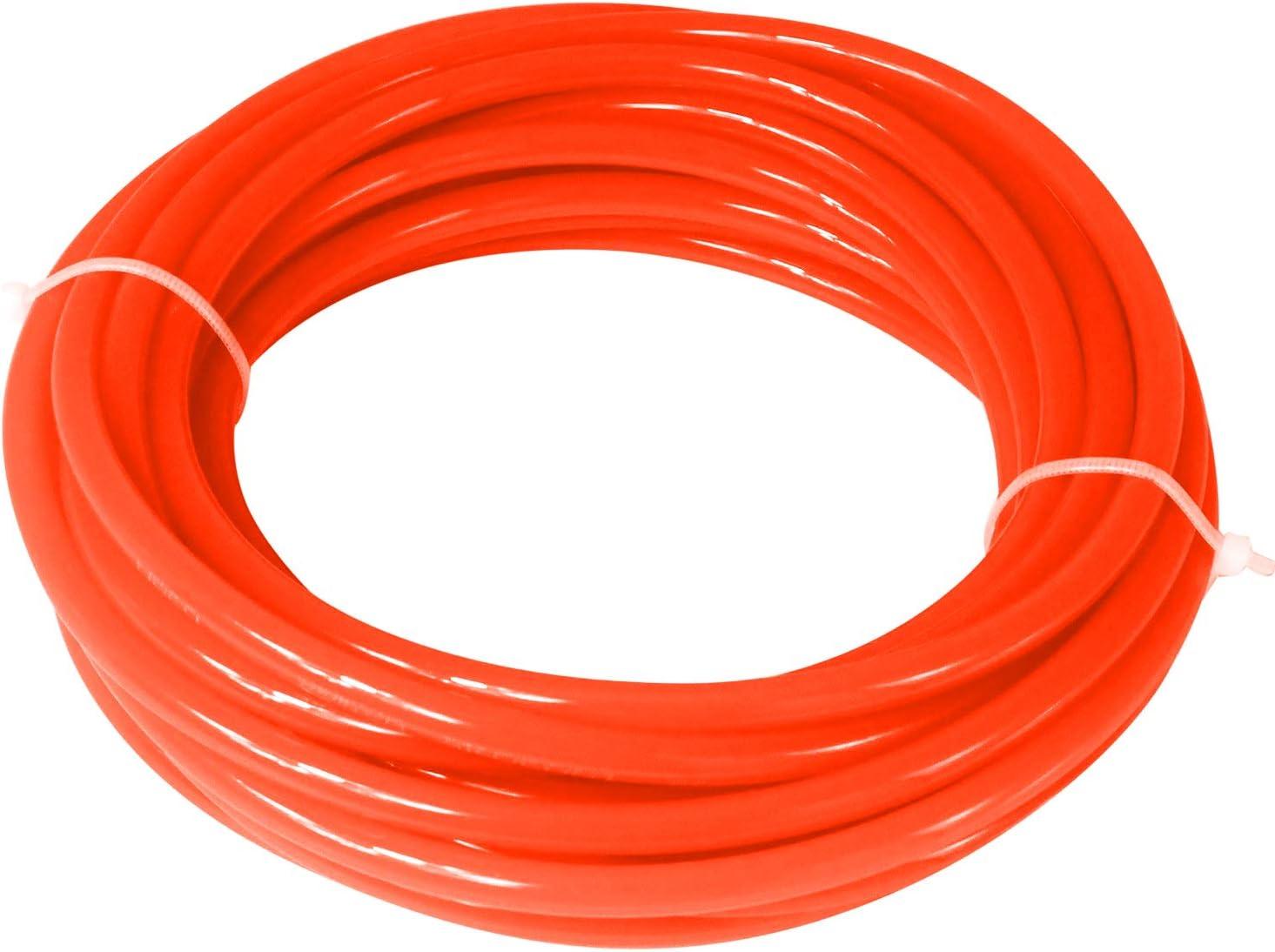Blue 32.8ft Quickun Pneumatic Tubing 6mm x 4mm PU Polyurethane Tube Air Hose Line for Air Compressor Fitting or Fluid Transfer