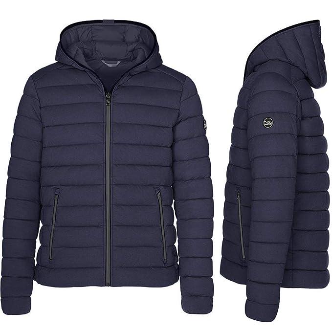 Chaqueta Hombre TWIG Winter Jacket 200gr Abrigo Parka Capucha Navy Blue (M)