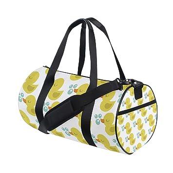 Amazon.com: Bolsas de deporte con diseño de pato sonriente ...