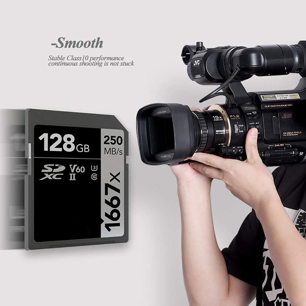 YTBLF 4K high Speed Memory Card 64G//128G//256G Camera Memory Card for 3D 4K HD Camera