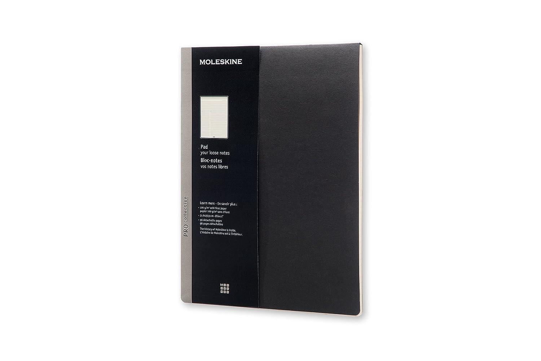 Moleskine Pro Collection Pad, Letter, Black, Soft Cover (8.5 x 11) 8051272891577 NON-CLASSIFIABLE