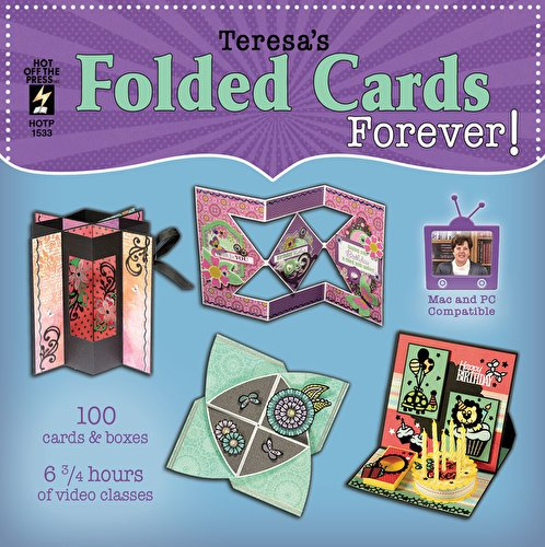 Folded Cards Forever! Computer DVD by Hot Off The Press | Inspiration for 100 Unique Cards by Hot Off The Press