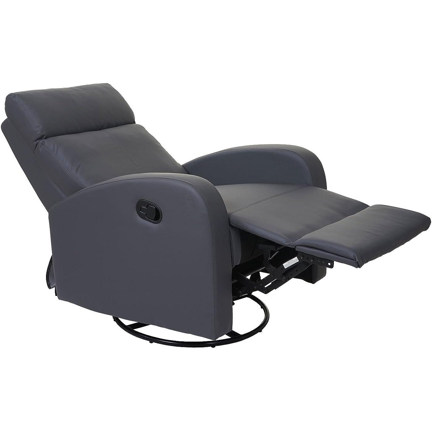 Relaxsessel gibt es in ganz unterschiedlichen Farben und Designs.