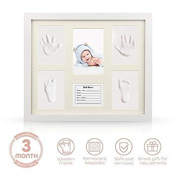 Amazoncom Baby Handprint Kit Isiler Baby Shower Keepsake Kit For