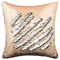 Reversible Sequins Throw Cushion Cover